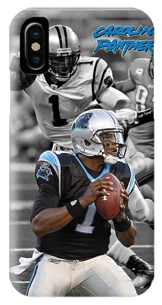 Cam Newton Panthers IPhone Case