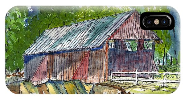 Cambell's Covered Bridge IPhone Case