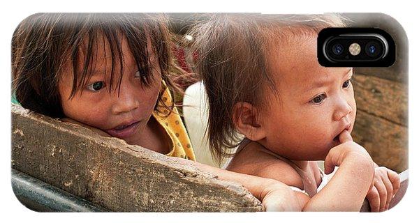 Cambodian Children 03 IPhone Case
