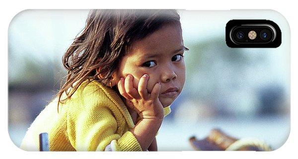 Cambodian Girl 01 IPhone Case
