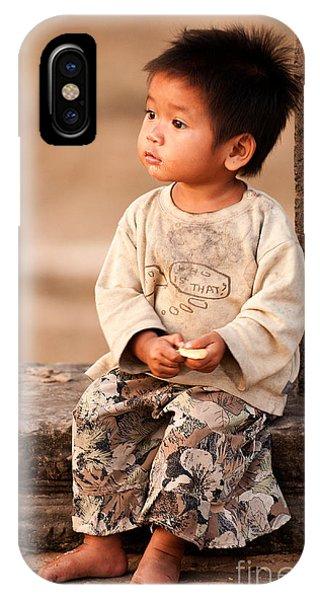Cambodian Girl 02 IPhone Case