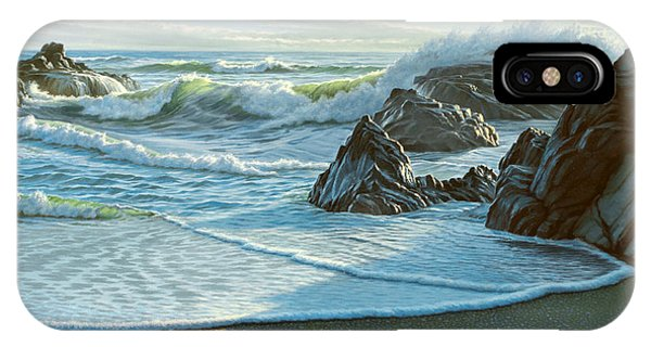 Coast iPhone Case - Cambria Seascape  by Paul Krapf