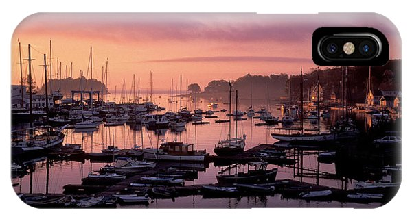 Camden Harbor IPhone Case