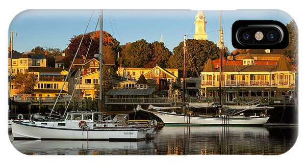 IPhone Case featuring the photograph Camden Maine by Brian Jannsen