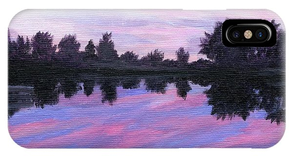 Camp Sunset IPhone Case