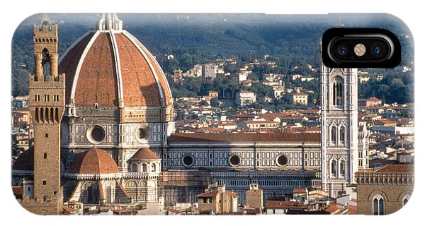 Campanile And Duomo, Italy IPhone Case