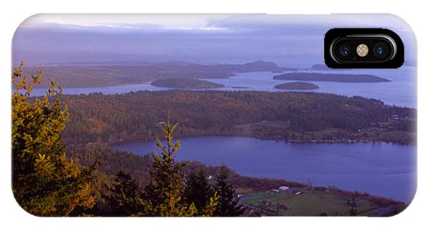 Whidbey iPhone Case - Campbell Lake And Whidbey Island Wa by Panoramic Images