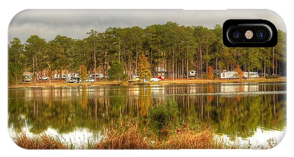 Campers Across The Lake IPhone Case