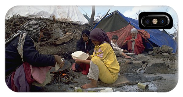 Camping In Iraq IPhone Case
