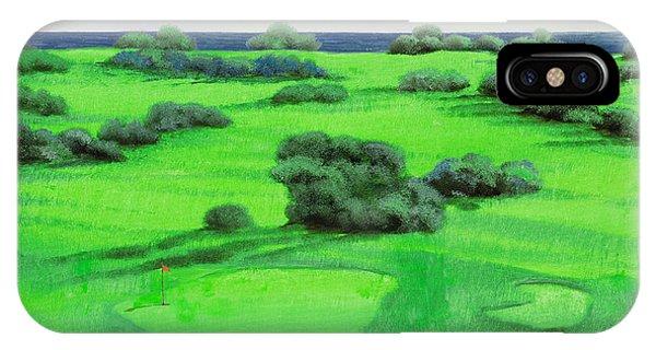 Golf iPhone Case - Campo Da Golf by Guido Borelli