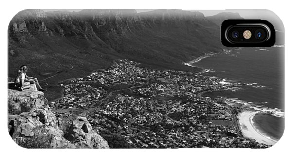 Camps Bay View Cape Town IPhone Case