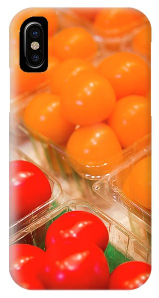 Quebec City iPhone Case - Canada, Montreal, Marche Jean Talon by Walter Bibikow