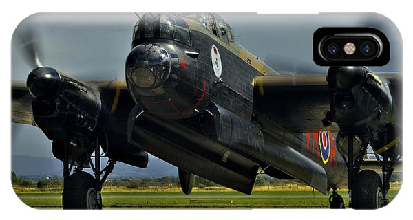 Canadian Avro Lancaster Bomber IPhone Case