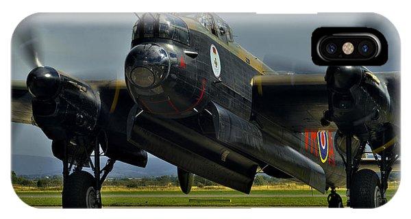 Canadian Avro Lancaster Bomber IPhone Case