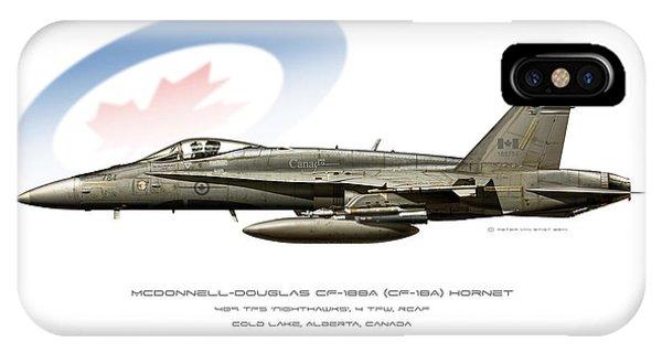 Canadian Hornet IPhone Case