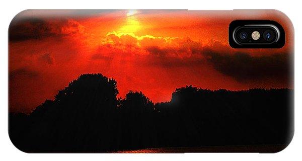 Canadian Sunrise IPhone Case