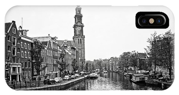 IPhone Case featuring the photograph Canal Church by Ryan Wyckoff