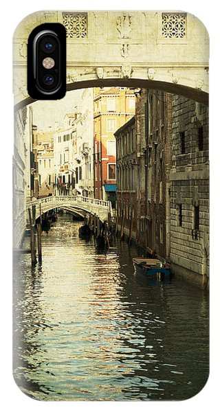 Canal In Venice IPhone Case