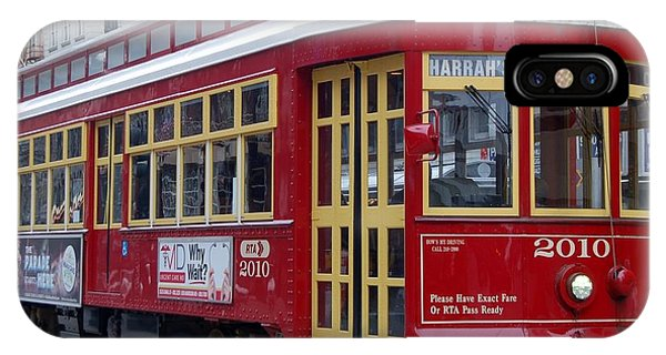 Canal Streetcar Nola IPhone Case