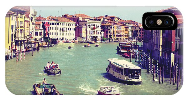 Canale Grande Venice Italy Phone Case by Ernst Cerjak