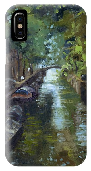 Sold Canals Of Coexistence IPhone Case