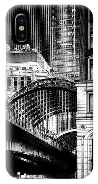 Canary Wharf Noir3 IPhone Case