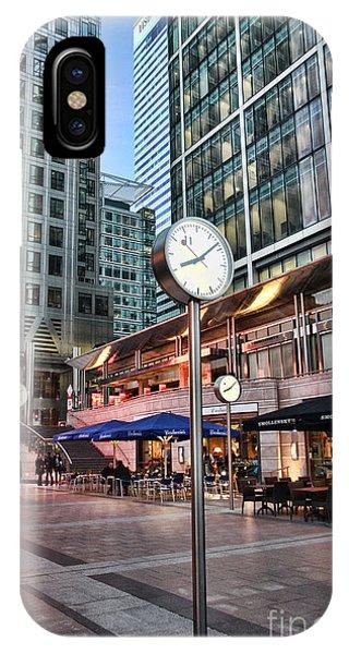 Canary Wharf Twilight IPhone Case