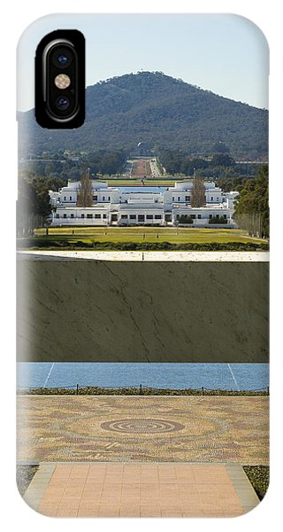 Canberra - Parliament House View IPhone Case