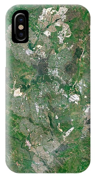 Canberra iPhone Case - Canberra by Planetobserver