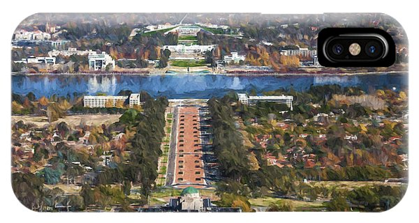 Canberra iPhone Case - Canberra by Sheila Smart Fine Art Photography