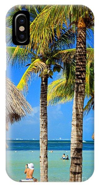 Cancun Beach IPhone Case