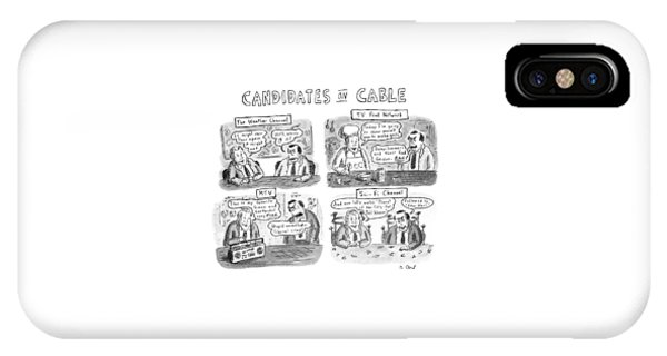 Candidates On Cable IPhone Case