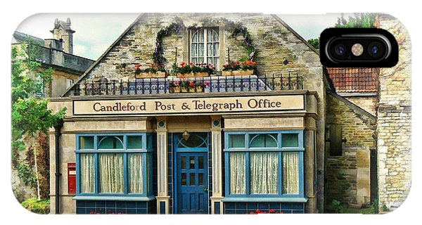 IPhone Case featuring the photograph Candleford Post Office by Paul Gulliver