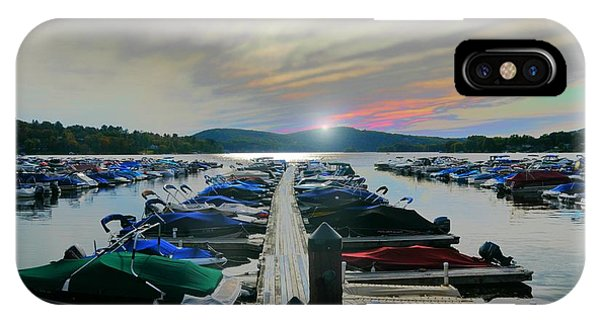 Candlewood Lake IPhone Case