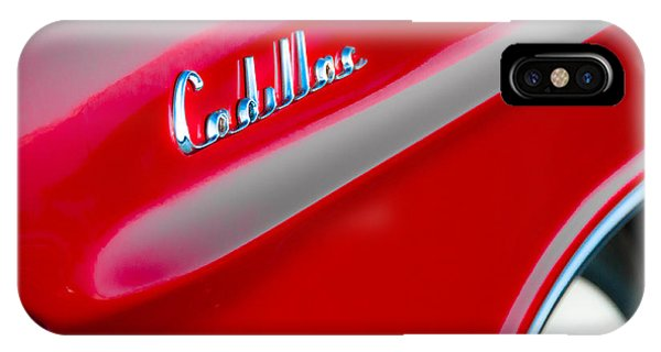 Candy Apple Red Phone Case by David Pinsent