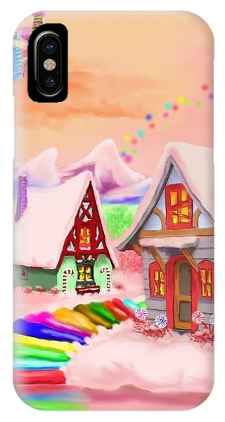 Candy Land Phone Case by Brad Simpson