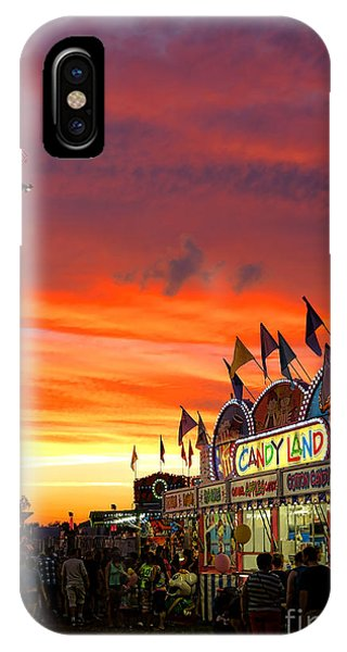 Funfair iPhone Case - Candy Land by Olivier Le Queinec