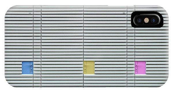 Facade iPhone Case - Candy Lockers. by Harry Verschelden