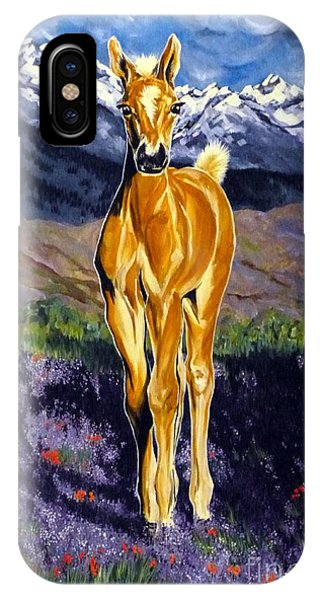 Candy Rocky Mountain Palomino Colt IPhone Case