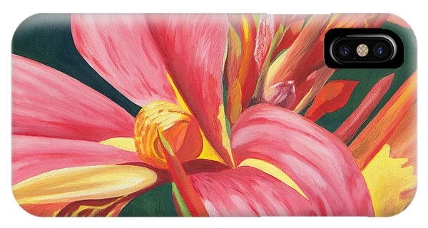 Canna Lily 2 IPhone Case