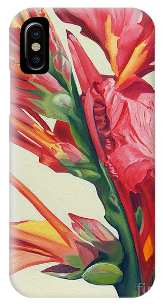 Canna Lily IPhone Case