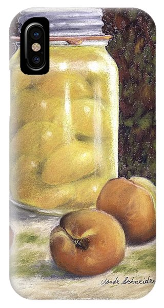 Canned Peaches IPhone Case
