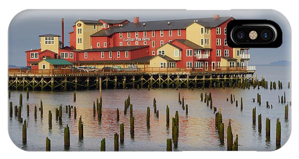 Cannery Pier Hotel IPhone Case