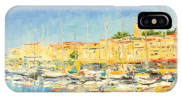 Cannes Harbour IPhone Case