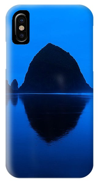 Cannon Beach Blue IPhone Case