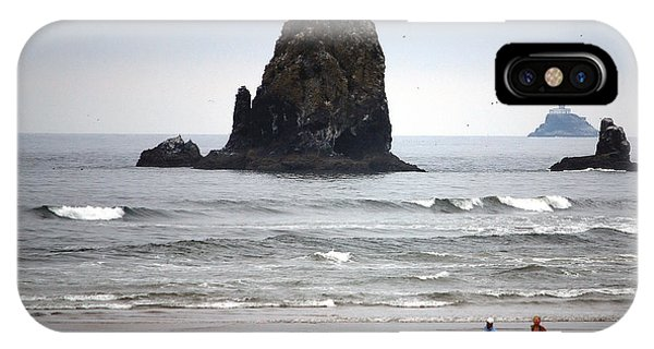 Cannon Beach Run IPhone Case