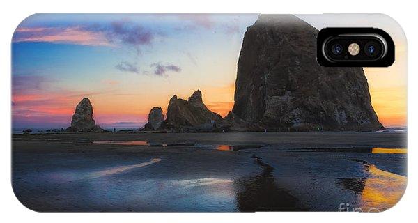 Cannon Beach Seastacks IPhone Case