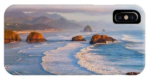 Cannon Beach Sunset IPhone Case