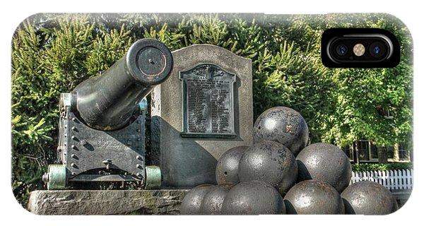 Cannon Phone Case by Lisa Hurylovich