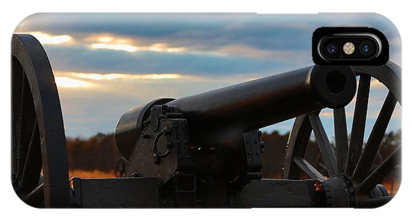 Cannon Of Manassas Battlefield IPhone Case